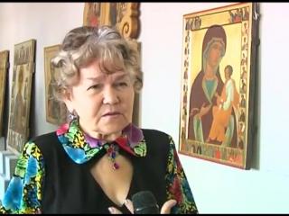 Выставка икон. Сюжет Галины Устиновой.