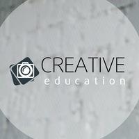 Логотип Фотошкола CREATIVE education
