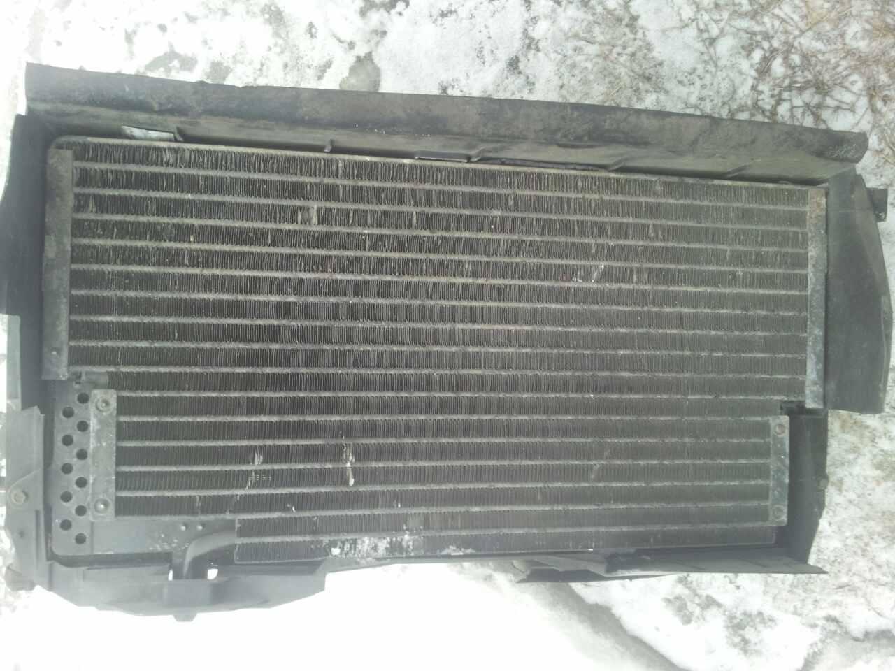 радиатор на пассат в-4 в сборе с