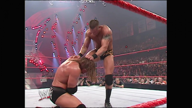 WWE No.Mercy 2007 - Last Man Standing match for the WWE Championship - Triple H vs Randy Orton