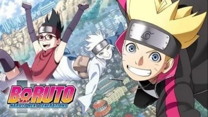 Boruto. Naruto Next Generations. 6 Серия (Rain.Death)