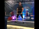 Odd Haugen  USA 195 kg Apollon Axle Аксель 2017 Чемпионат Мира Армлифтинг