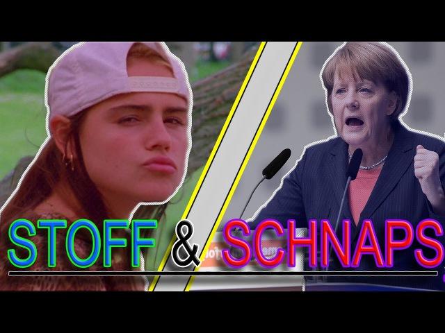 Angela Merkel singt Stoff Schnaps
