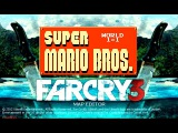 Far Cry 3 (PC) - Map Editor - Super Mario Bros - World 1 Level 1 map - Gameplay!