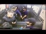 Старинная русская забава - кулачный бой в лифте. 1 vs 3.