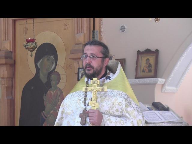 Проповедь на Вознесение Господне. Священник Игорь Сильченков