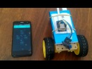 Arduino WI-FI машинка робот управляемая с помощью BLYNK DIY toy RC robot car WI-FI