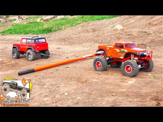 RC ADVENTURES - POKER TTC 2016 - PT 2 - TUG OF WAR - 14 Trucks, Power Pulling