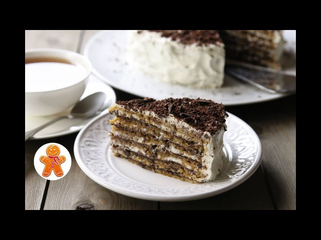 Итальянский Ореховый Торт ✧ Italian Walnut Cake (English Subtitles)