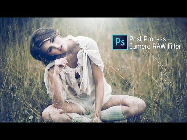 Photoshop cc Tutorial Outdoor Portrait Edit Cute Girl ❤