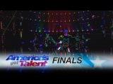 Light Balance Light Up Dance Crew Delivers Amazing Performance - America's Got Talent 2017