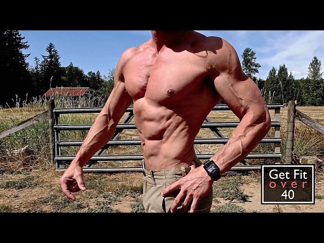 Get Fit Over 40 Update Video - 4 Weeks Out Victoria Cup (No Shirt)