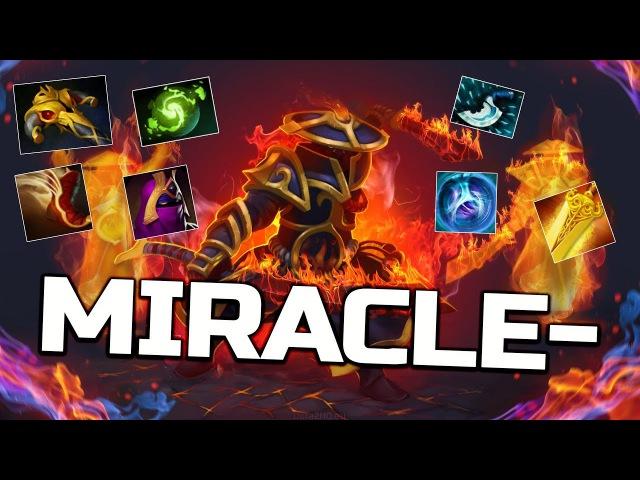 Miracle- FULL-Slotted Ember Spirit Carry - 9k MMR Gameplay Dota 2