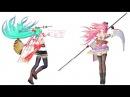 【MMD】 ビバハピ/Viva Happy 【Models DL】【TDA Blooming Flower】 HD 720p
