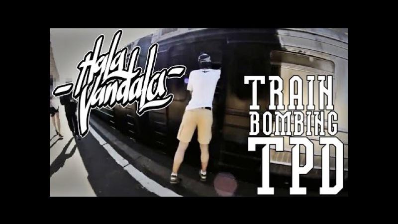 Odessa Bombing Graffiti / TPD Crew for JMD 9 Odessa Vandals