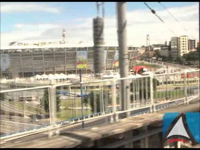 Governo da Bahia entrega primeiro trecho do Metrô de Salvador