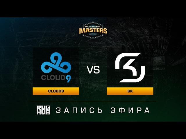 Cloud9 vs SK - Dreamhack Malmo 2017 - map2 - de_cobblestone [ceh9, Enkanis]