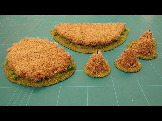 Let's Make Cheap Easy Hay Fields Hay Stacks Scatter Terrain