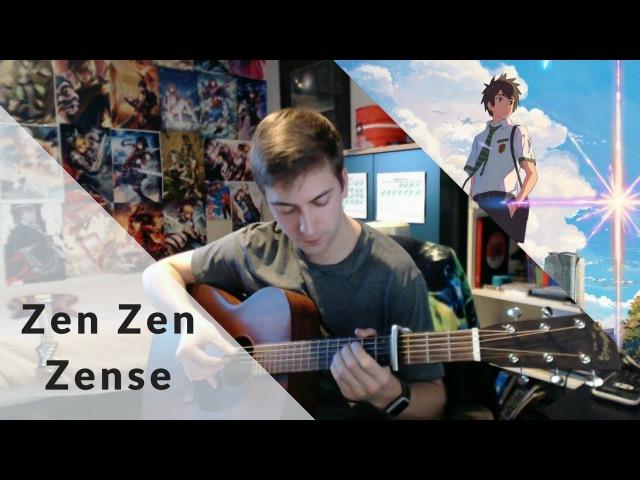 Kimi no Na wa - Zen Zen Zense (Fingerstyle Guitar Cover) » Freewka.com - Смотреть онлайн в хорощем качестве
