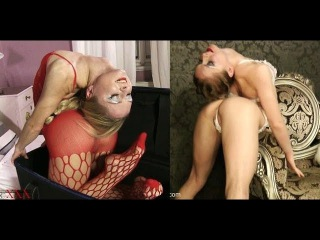 Contortionist Tanya Balahnina Folds Herself In Half Compilation