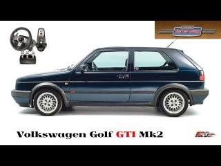 Volkswagen Golf GTI Mk2 тест-драйв, обзор, лучший хэтчбек из восьмидесятых City Car Driving