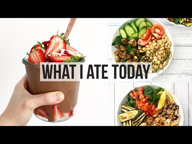 WHAT I ATE TODAY 51 | HIGH CARB LOW FAT VEGAN
