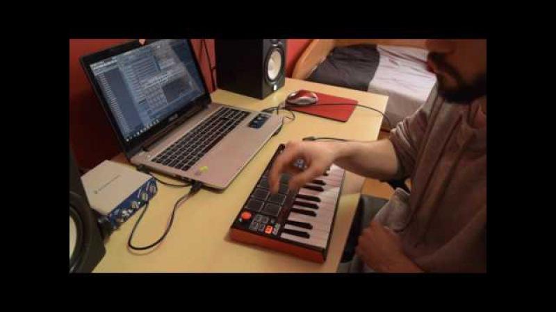 MAKING A HIP HOP/ROCK BEAT 2 | MPK mini MkII