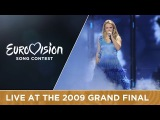 Yohanna - Is It True (Iceland) LIVE 2009 Eurovision Song Contest
