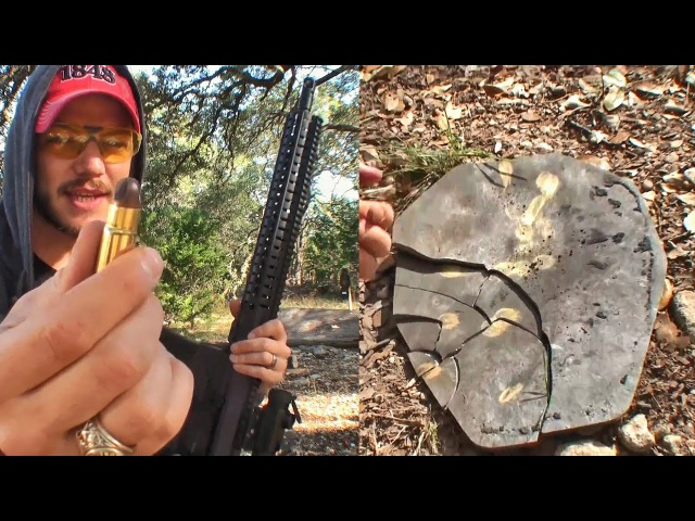 Ломаем пластину бронежилета патроном .458 SOCOM | Разрушительное ранчо | Перевод Zёбры