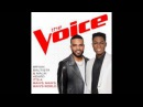 Bryan Bautista Malik Heard - It's a Man's Man's Man's World - Studio Version - The Voice 10