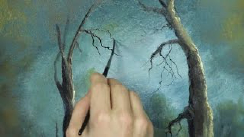 Oil Painting Free lesson, Liner Brush Tips