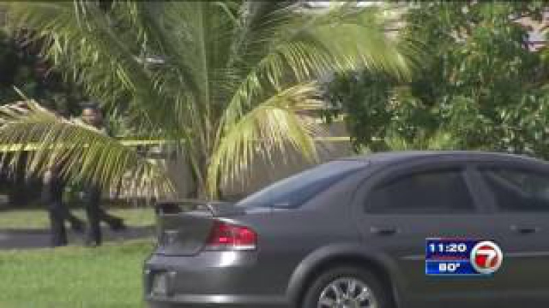 Dog shot during Miramar home invasion recovering amid search for intruders