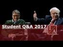 Bill Gates and Warren Buffett: Student Q A 2017