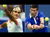 Novak Djokovic vs Roger Federer Highlights