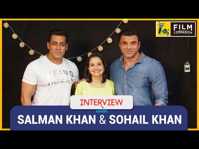 Salman Khan Sohail Khan Interview with Anupama Chopra | Tubelight