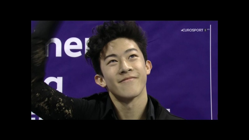 Nathan Chen Corsair SP 2017 Four Continents Championships