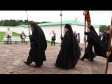 Крестный ход с мощами Александра Свирского