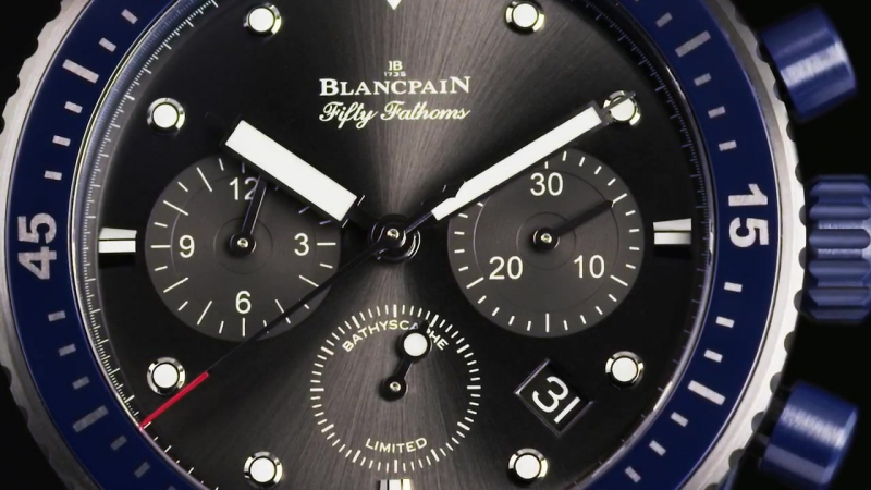 Blancpain - Fifty Fathoms Bathyscaphe Flyback Chronograph BOC II (2016)