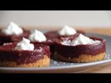 Десерты: как приготовить красный шоколадный чизкейк?