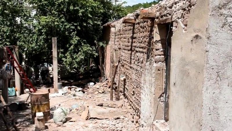 Video sobre las consecuencias que tuvo el sismo en El Platanar, Morelos 19 sep 2017