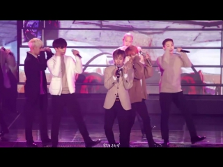 [fancam] 22.01.2017: btob - second confession (фокус на ынквана) @ btob time