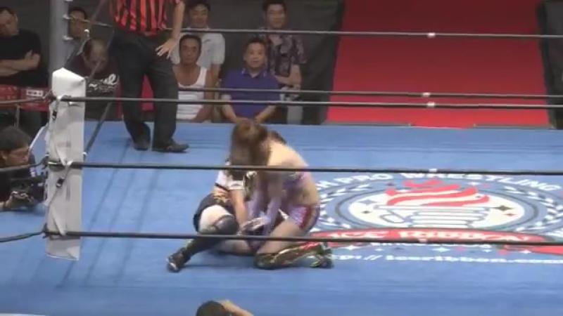 Risa Sera (c) vs. Maya Yukihi (Ice Ribbon - Ice In Wonderland 2017)