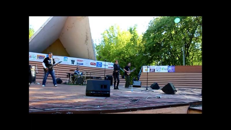 Аня Мошкорина и группа Pure Pot Still. Выступление на благотворительном концерте Добрый рок - Городу детства.
