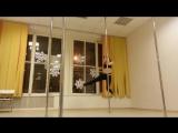 Няшные трени #62 ♥ или как сходит с ума тренер. Яна Светлая. Pole dance tricks.