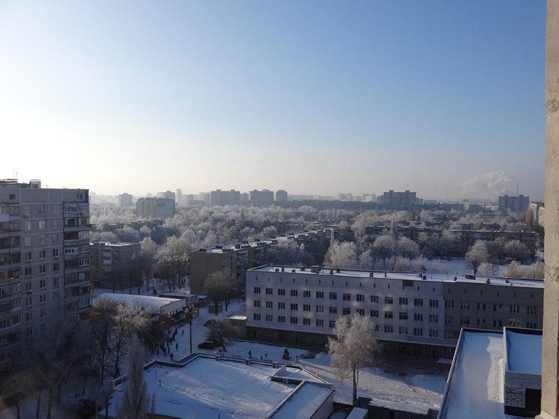 Декорации к сказкам: Жители Харькова публикуют снимки утреннего города (ФОТО)