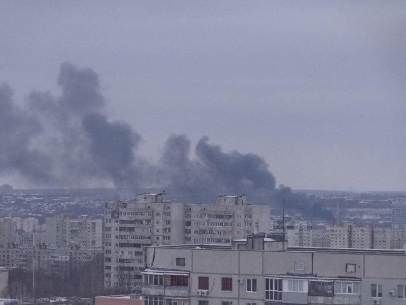 Масштабный пожар на Салтовке. Два человека погибли (ФОТО, дополнено)