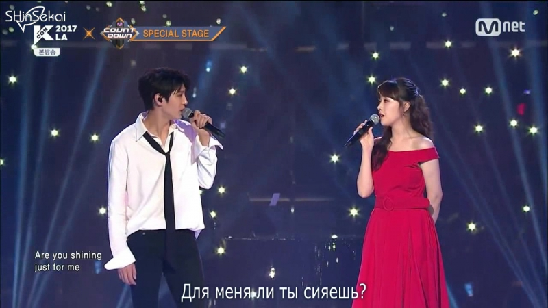 "[RUS SUB] VIXX Leo and Girls Day Minah - ""City of Stars"" (from La La Land)"