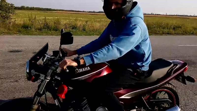 на Yamaha xj600