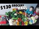 $130 Grocery Shopping Haul for Large Vegan Family