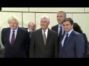 Sec. Rex Tillerson Sec. Boris Johnson. Jens Stoltenberg Minister Klimkin. NATO. Ukraine. Brussels.